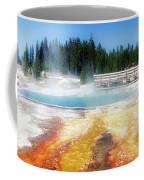 Live Dream Own Yellowstone Park Black Pool Text Coffee Mug
