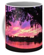 Live Oak Sunset Coffee Mug
