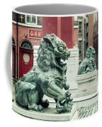 Liverpool Chinatown - Chinese Lion D Coffee Mug