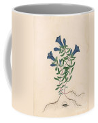 Liverpool Gentian With One Insect Coffee Mug