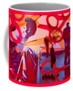 Living Cutouts Drifting Into The Spirit World/we Are All Born Asleep Coffee Mug