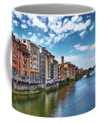 Living Next To The Arno River Coffee Mug