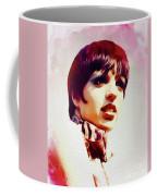 Liza Minnelli, Vintage Movie Star Coffee Mug