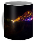 Llano Bridge At Night Coffee Mug
