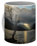 Llyn Padarn Sunrays Coffee Mug