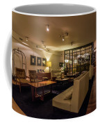 Lobby Of Hotel With Chairs And Tables Coffee Mug