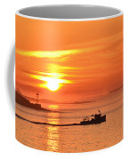 Lobster Boat Coffee Mug