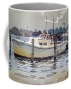 Lobster Boats In Shark River Coffee Mug