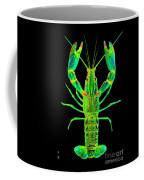Lobster Crawfish In The Dark - Greenlime Coffee Mug