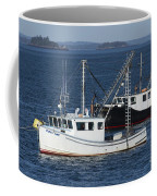Lobster Fishing Boats Coffee Mug