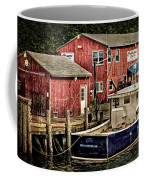 Lobster Market In Boothbay Harbor Coffee Mug