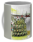 Lobster Pots Kilmore Quay, Wexford, Ireland, Poster Effect 1a Coffee Mug