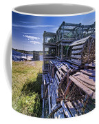 Lobster Traps In The Sun Coffee Mug