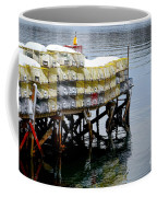 Lobster Traps In Winter Coffee Mug