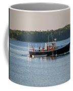 Lobstermen At Work  Coffee Mug