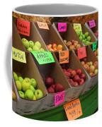 Local Apples For Sale Coffee Mug