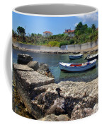 Local Boats In Harbour Coffee Mug