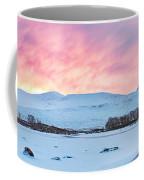 Loch Ba Panoramic Sunrise Coffee Mug