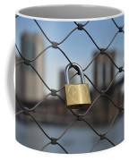 Lock And Bridge  Coffee Mug