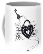 Locked Love Coffee Mug