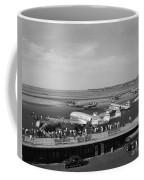 Lockheed Constellation Plane Fueling Up Coffee Mug