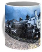 Locomotive 495 A Romantic View Coffee Mug