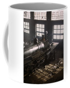 Locomotive Repair Shop - December 1942 Coffee Mug