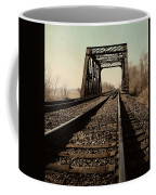 Locomotive Truss Bridge Coffee Mug