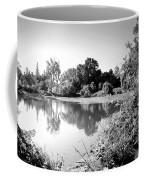 Lodi Pig Lake Reflections B And W Coffee Mug