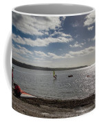 Loe Beach Windsurfers Coffee Mug
