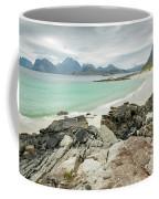 Lofoten Island Beach Scene Coffee Mug