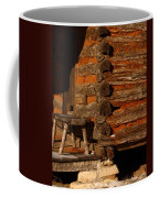 Log Cabin Coffee Mug by Robert Frederick