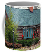 Log Cabin Coffee Mug