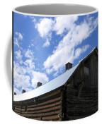 Log Clydesdale Barn Coffee Mug