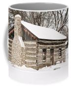 Log Home Coffee Mug