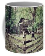 Log Structure For Storage Coffee Mug