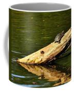 Log Turtle L 3584 Coffee Mug