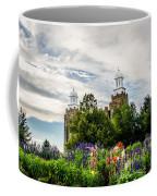 Logan Temple Flowers Coffee Mug