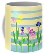 Lollipop Flower Bed Coffee Mug