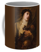 Lombard School, 17th Century Saint Catherine Of Siena Coffee Mug