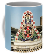 London Chatham And Dover Railway Crest With Invicta Motto Blackfriars Railway Station Coffee Mug