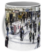 London Commuter Art Coffee Mug