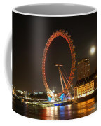 London Eye At Night Coffee Mug