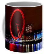 London Eye Coffee Mug by Heather Applegate