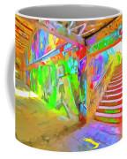 London Graffiti Pop Art Coffee Mug