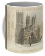 London Lincoln Cathedral. Coffee Mug