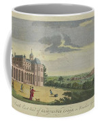 London Magazine, London South East View Of Gloucester Lodge In Windsor Great Park Published Aug 1780 Coffee Mug
