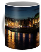 London Night Magic - Colorful Reflections On The Thames River Coffee Mug
