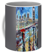 London Rainy Evening Coffee Mug