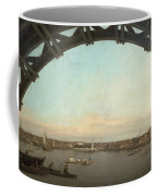 London Seen Through An Arch Of Westminster Bridge Coffee Mug